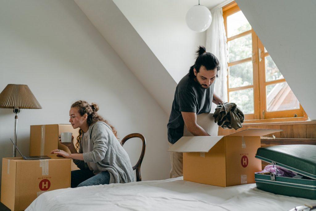 aménager une chambre sous les combles